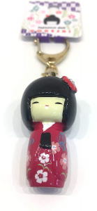 Portachiavi Kokeshi Sakura