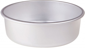 Tortiera conica in alluminio cm.8h diam.28