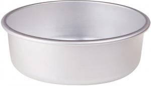 Tortiera conica in alluminio cm.8h diam.30