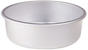 Tortiera conica in alluminio cm.8h diam.34