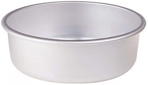 Tortiera conica in alluminio cm.8h diam.36