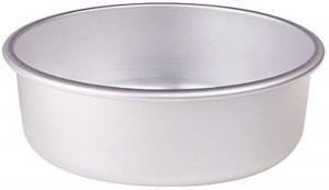 Tortiera conica in alluminio cm.8h diam.40