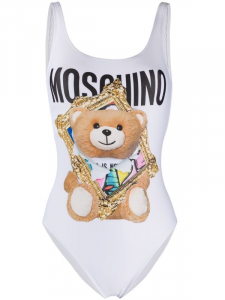 Costume intero Teddy Bear Frame Moschino
