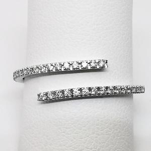 Anello Contrarie Diamanti