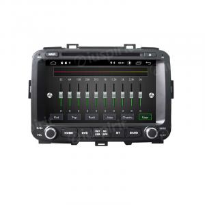 ANDROID 10 autoradio 2 DIN navigatore per Kia Carens 2013-2018 GPS DVD USB SD WI-FI Bluetooth Mirrorlink