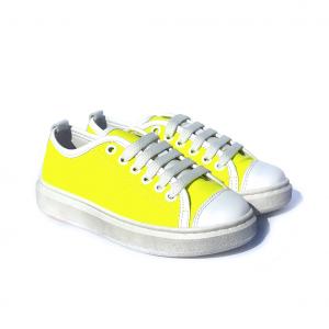 Sneaker gialla rifrangente Barque