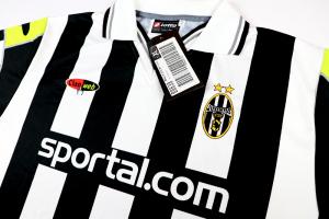 2000-01 Juventus  Maglia Home Champions  XL *Nuova