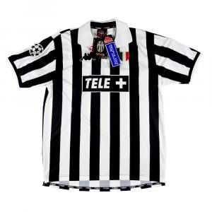 1998-99 Juventus Maglia Home Champions XL *Nuova