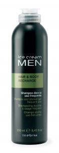 INEBRYA Man Shampoo Doccia Uso Frequente - 250 ML