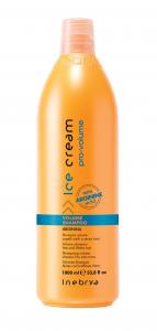 INEBRYA Ice Cream Pro Volume Shampoo - 1000 ML