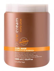 INEBRYA Ice Cream Curly Plus Curl Mask Capelli Ricci - 1000 ML