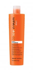 INEBRYA Shampoo Dry-T Capelli Secchi, Crespi, Trattati - 300 ML