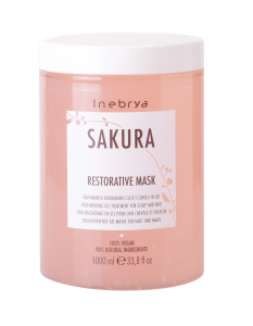INEBRYA Sakura Restorative Mask - 1000ML