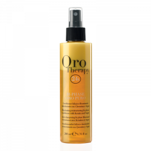 FANOLA Oro Therapy Illuminante Bi-Phase Oro Puro Capelli - 200 ML