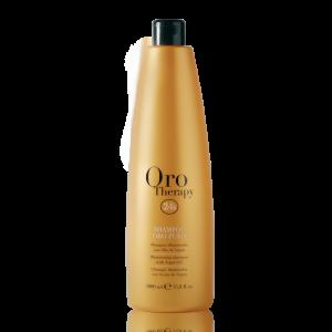 FANOLA Oro Therapy Illuminante Shampoo Oro Puro per Capelli - 1000 ML