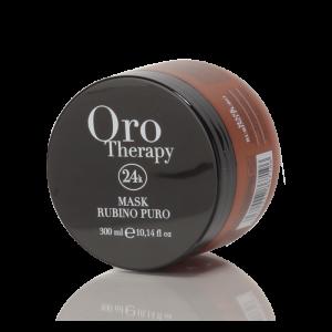 FANOLA Oro Therapy Capelli Colorati Mask Rubino Puro Maschera - 300 ML