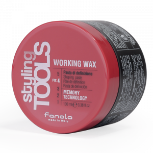 FANOLA Styling Tools Working Wax - Pasta Di Definizione per Capelli - 100 ML