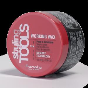FANOLA Styling Tools Working Wax - Pasta Di Definizione per Capelli - 100 ML