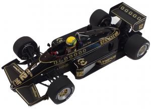 Lotus Renault 97T Ayrton Senna 1985 1/18