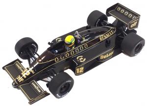 Lotus Renault 98T Ayrton Senna 1986 1/18
