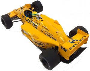 Lotus Honda 99T Ayrton Senna 1987 1/18
