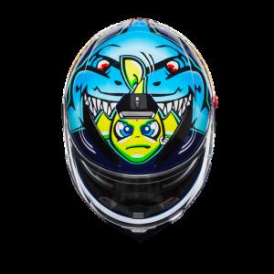 Casco AGV K3 SV Rossi Misano 2015
