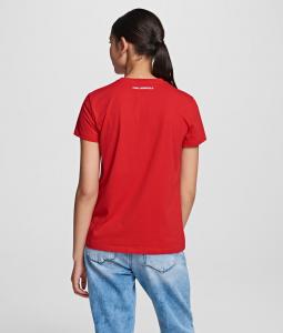 T-shirt con borchie multicolori Karl Lagerfeld.