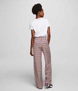 Pantalone pura seta Karl Lagerfeld.