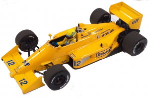 Lotus Honda 99T Ayrton Senna 1987 Monaco GP 1/18