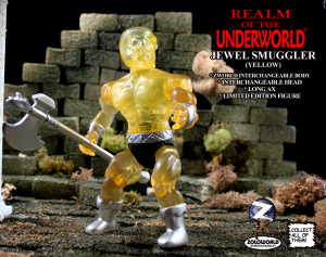 Realm of the Underworld: THE JEWEL SMUGGLER (Yellow) by Zoloworld