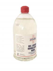 Gel igienizzante per mani disinfettante 1000 ml igenizzante liquido antibatterico senza risciacquo Alcool Antigerm