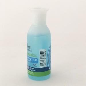 Gel igienizzante per mani 70% di alcool lavamani antisettico 80 ml Miss Sandy