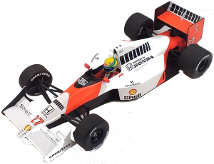 McLaren Honda MP4/5B Ayrton Senna V10 World Champion 1990 1/18