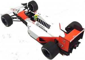 McLaren Honda MP4/5B Ayrton Senna V10 World Champion 1990 1/18