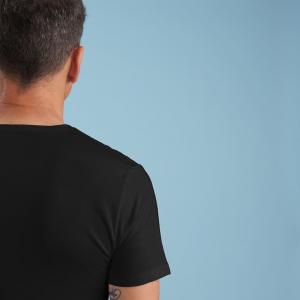 T-shirt traspirante uomo nera