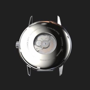 Orologio Fonderia -The Professor II automatic black matte bracelet