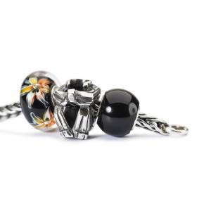 Trollbeads, Beads Onice Nero Rotondo