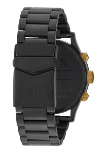 Orologio Nixon, Sentry Chrono  Matte Black / Gold 42mm