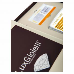 Diamante Lux Gioielli in Blister Certificato CT 0.08
