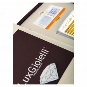 Diamante Lux Gioielli in Blister Certificato CT 0.09