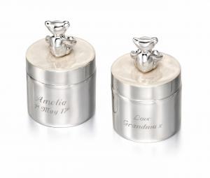 Set di contenitori per dentini e capelli D for Diamond