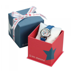Orologio D for Diamond Blue bimbo
