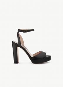 Sandali tacco largo nero Liu Jo.