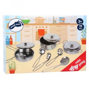 Stoviglie pentole da cucina con accessori