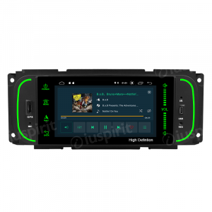 ANDROID 10 autoradio navigatore per Jeep Grand Cherokee Jeep Wrangler Chrysler 300 M Chrysler PT Cruiser GPS DVD USB SD WI-FI Bluetooth Mirrorlink