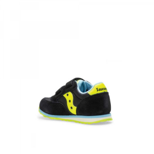 Saucony Jazz Double Black/Yellow Junior