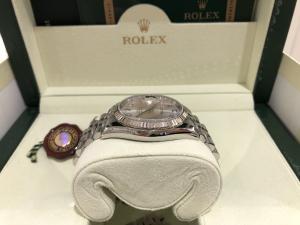 Rolex Datejust 36 mm Argento e Diamanti 116234