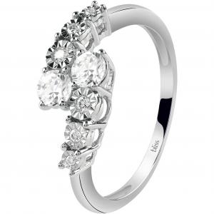 Bliss ANELLO in oro bianco e diamanti; ref. 20085763
