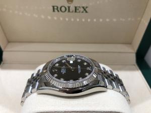 Rolex Datejust 36 mm Nero e Diamanti 116234