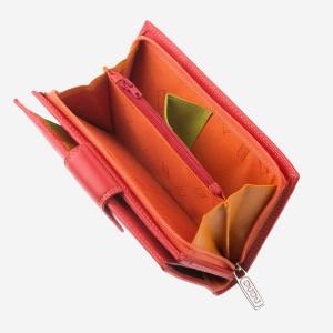 Portafoglio in pelle donna con portamonete Colorful Bali